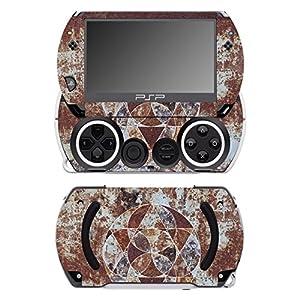 Disagu SF-14232_1050 Design Folie für Sony PSP Go – Motiv Rost geometrisch 02″ transparent