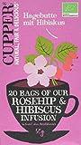 Cupper Hagebuttentee mit Hibiskus, 4er Pack (4 x 50 g)