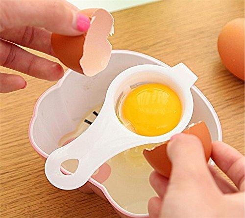 JUNGEN Eigelbtrenner DIY Eigelb Separator Küchenhelfer Eiertrenner Eier trennen Trenner Ei weiß Eggwhite - 3