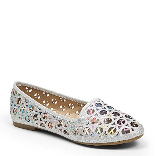 ideal-shoes-mocassins-ajoures-effet-paillete-perlina-argent-40