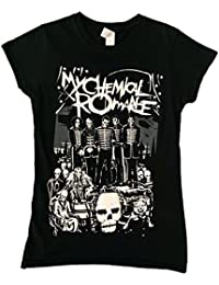 My Chemical Romance Dead Parade Ladies Official Tshirt Brand New Various Sizes