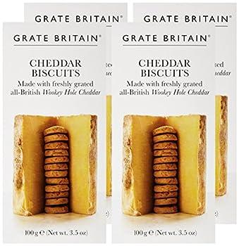 ARTISAN BISCUITS Cheddar Biscuit - Lot de 4