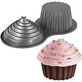 Wilton 2105-5038 - Molde 3D para hornear cupcake, gigante