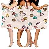 rongxincailiaoke Strandtücher Handtücher Beach Bath Towel Doughnut Soft Big 31'x 51'