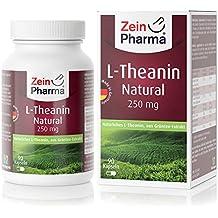 Cápsulas de L-Teanina 250mg de ZeinPharma • 90 cápsulas (3 meses de suministro