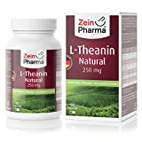 L-Teanina 250mg di ZeinPharma • 90 capsule (fornitura per 3 mesi) • Estratto di Tè Verde da coltivazione controllata, rilassa senza stancarti • Fatto in Germania