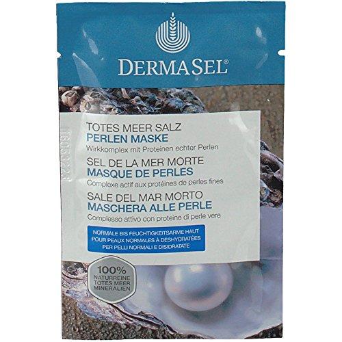 Dermasel Masque Mer Morte de Perles Sachet de 12 ml - Lot de 4