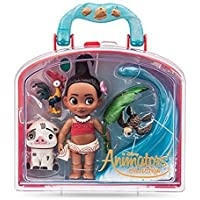 Official Disney Moana Animator Collection Mini Doll Playset