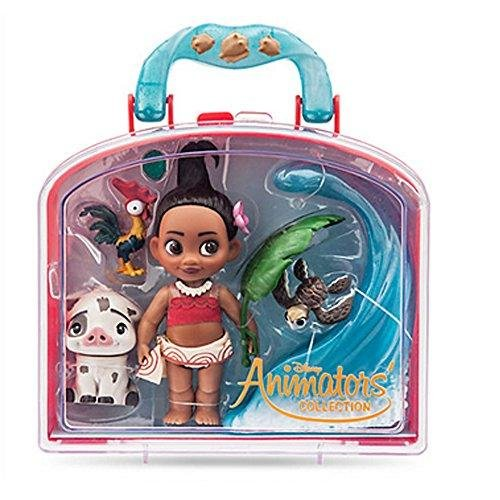 Stoff-puppe Disney (Offizielle Disney Moana Animator Kollektion Mini Doll Playset)