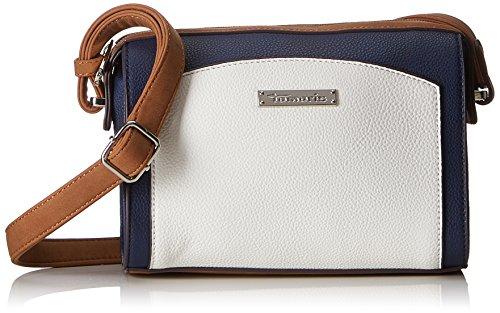 Tamaris Damen Elsa Crossbody Bag S Umhängetasche, Blau (Maritime), 9x16x21 cm