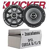 Opel Corsa B/C/D - Kicker KS65 - 16cm Lautsprecher, gebraucht gebraucht kaufen  Wird an jeden Ort in Deutschland