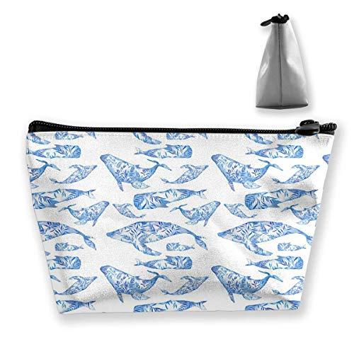 Fisch Tier Muster Reise Make-Up Tasche Kosmetiktasche Organizer Aufbewahrungstasche Für Frauen Schönheit -