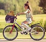 PETGARD Fahrradtasche Fahrradkorb Transporttasche für Hunde und Katzen bis 7 kg