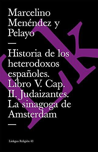 Historia de Los Heterodoxos Espanoles Cover Image