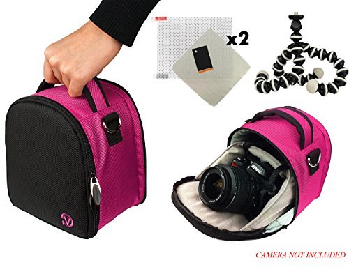Laurel Travel Camera Bag Case For Samsung WB Series WB1100F, WB2200F, Galaxy NX30 DSLR Camera + Screen Protector + Screen Protector + Mini Tripod  available at amazon for Rs.6981