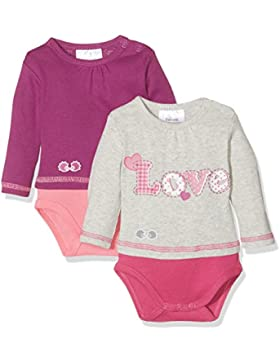 Twins Unisex Baby Body Love, 2er Pack