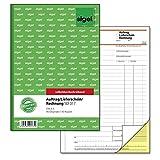 Sigel SD017 Kombinationsbuch, Auftrag/Lieferschein/Rechnung A5, 2x40 Blatt, selbstdurchschreibend