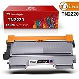 Toner Kingdom 1er Pack Kompatibel Brother TN-2220 TN 2220 TN-2010 Toner für Brother HL-2220 HL-2130 HL-2132 HL-2230 HL-2250DN HL-2240 HL-2240D HL-2270 HL-2270DW HL-2275 HL-2280DW MFC-7360N MFC-7460DN MFC-7860DW DCP-7055 DCP-7060D DCP-7065DN DCP-7070DW FAX-2840 FAX-2940 FAX-2845