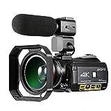 Caméscope 4K, Caméra vidéo...