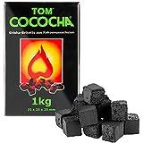 TOM Cococha grün Cáscaras de coco Carbón vegetal Natural BBQ pastillas pequeños