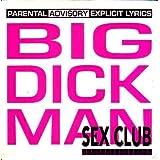Big dick man 2-track CARD SLEEVE