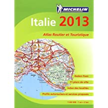 Atlas routier Michelin Italie 2013