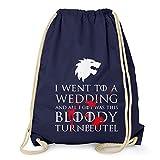 NERDO GoT: Bloody Wedding Turnbeutel - Turnbeutel, navy