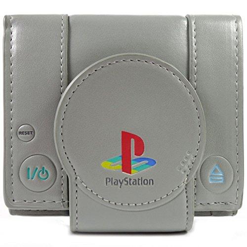 Sony PlayStation One Konsole Grau Portemonnaie Geldbörse