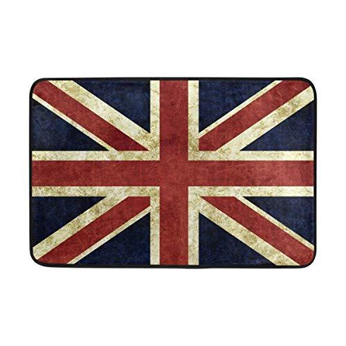 Fußmatte mit Union Jack Design, 60 x 40 cm, Vintage-Stil