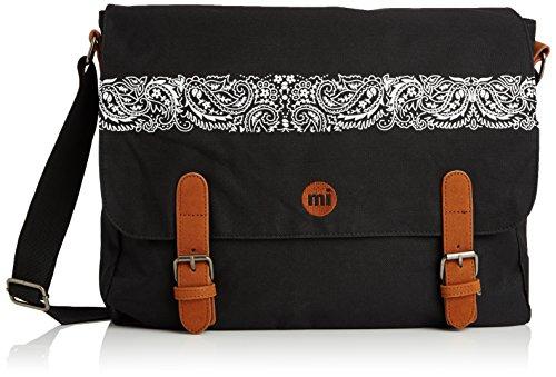 Mi-Pac Messenger - Bandolera, color negro