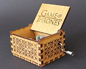Bigaxi UrbanPro Game Of Thrones Hand Cranked Collectable Music Box (Multicolour)