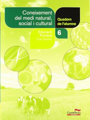 Coneixement del medi natural, social i cultural 6è. Quadern de l'alumne (Projecte Salvem la Balena Blanca) (Cuadernos asociados a un libro de texto)