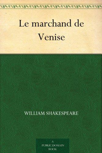 Couverture du livre Le marchand de Venise