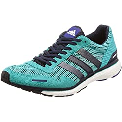 adidas Adizero Adios 3 m, Zapatillas de Running para Hombre, Azul (Hi-Res Aqua/Legend F17/Mystery Ink F17), 42 EU