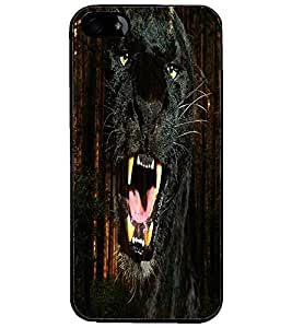 PrintDhaba Jaguar D-4356 Back Case Cover for APPLE IPHONE 4 (Multi-Coloured)