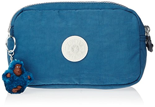 Kipling WALAN M Estuche, Teal (Azul)