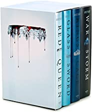 Red Queen 4-Book Hardcover Box Set: Books 1-4
