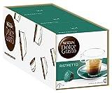 NESCAFÉ Dolce Gusto Espresso Ristretto | 48 Kaffeekapseln | Italienischer Kaffee | Robusta und Arabica Bohnen | Herber Geschmack | Leckere Crema | Aromaversiegelte Kapseln | 3er Pack (3 x 16 Kapseln)