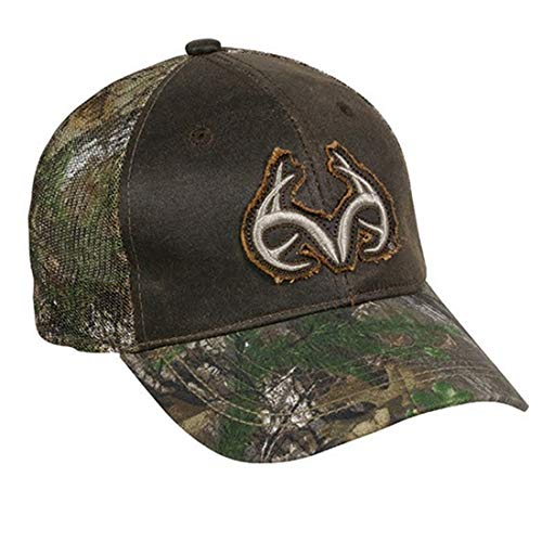 ocg Realtree Geweih Distressed Patch Camo gewachst Front Mesh Back Hunting Hat Cap Front-mesh Back Cap