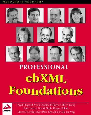 Professional Ebxml Foundations by Duane Nickull (2001-11-02)