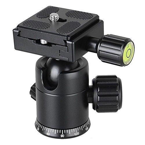 Portable Aluminum Alloy Digital Camera Tripod,Ball PTZ Camera/Camera Tripod, Spirit Level Bracket, 360-degree Adjustable Panoramic SLR Camera Holder Alloy Digital Kamera