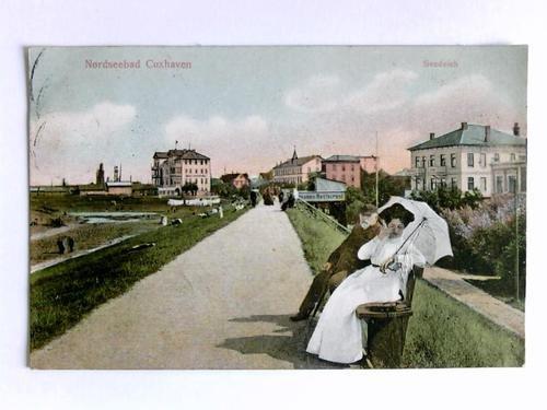 Postkarte: Nordseebad Cuxhaven - Seedeich