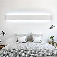 Ralbay LED Applique Murale Lampe Pour Salle De Bain Miroir 24W Haute Lumineuse