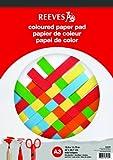 Reeves 8490668 Block Farbiges Papier A3 20 Seiten