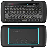 H20 Mini Wireless keyboard/black light/touchpad/compact