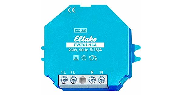 Eltako fwz61 16/A sans fil Compteur Transmission Radio
