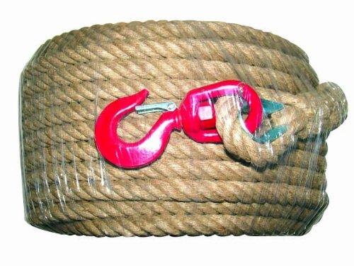Outifrance - Corde à poulie 25 m avec crochet Outifrance
