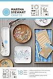 Plaid Enterprises Inc. Martha Stewart Selbstklebende Schablone Set Jahrmarkt Isle Dots
