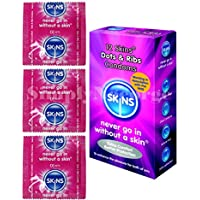 Skins Dots und die Rippen Kondome–12Stück (Retail Pack) in versiegelter Box preisvergleich bei billige-tabletten.eu