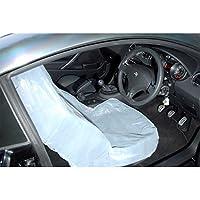 Fast Mover Tools - Fundas desechables para asientos de coche, grande, paquete de 100 unidades